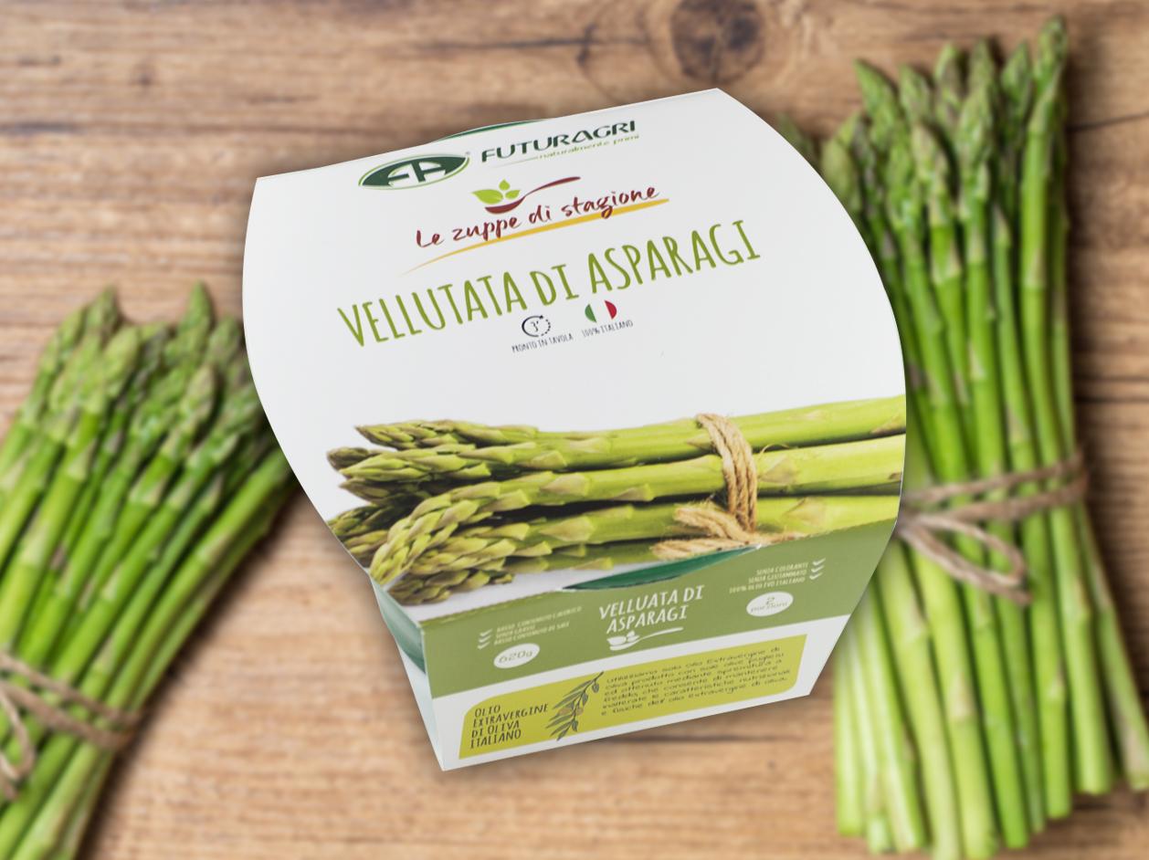 Zuppe di stagione Futuragri - Vellutata di asparagi
