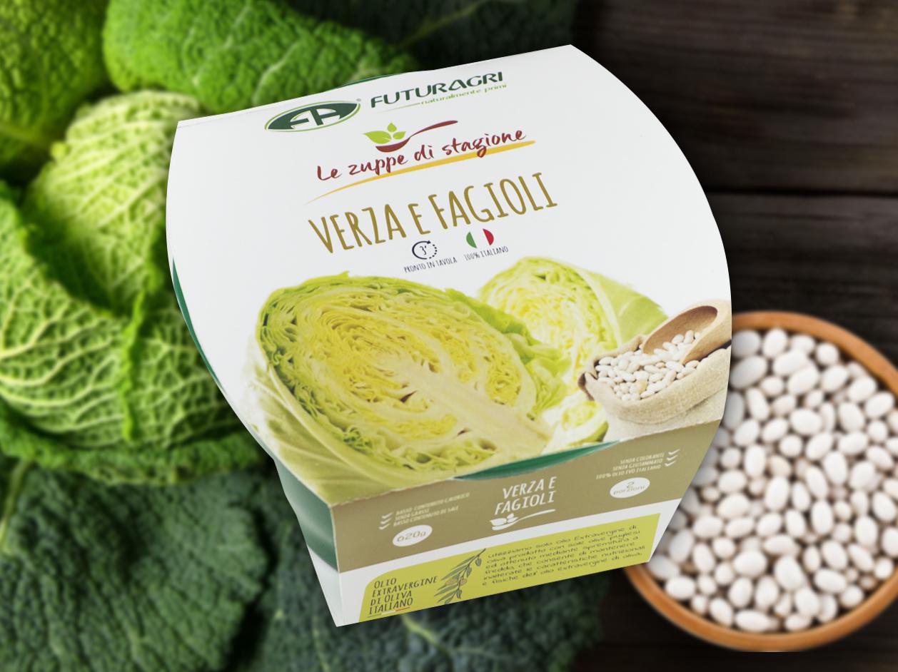 Zuppe di stagione Futuragri - Zuppa di verza e fagioli