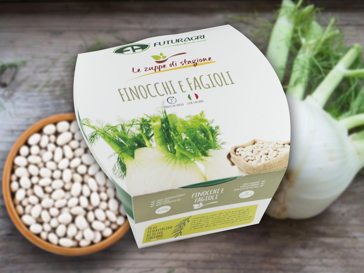 Zuppe di stagione Futuragri - Finocchi e fagioli
