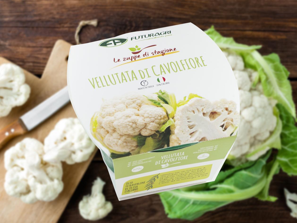 Zuppe di stagione Futuragri - Vellutata di cavolfiore
