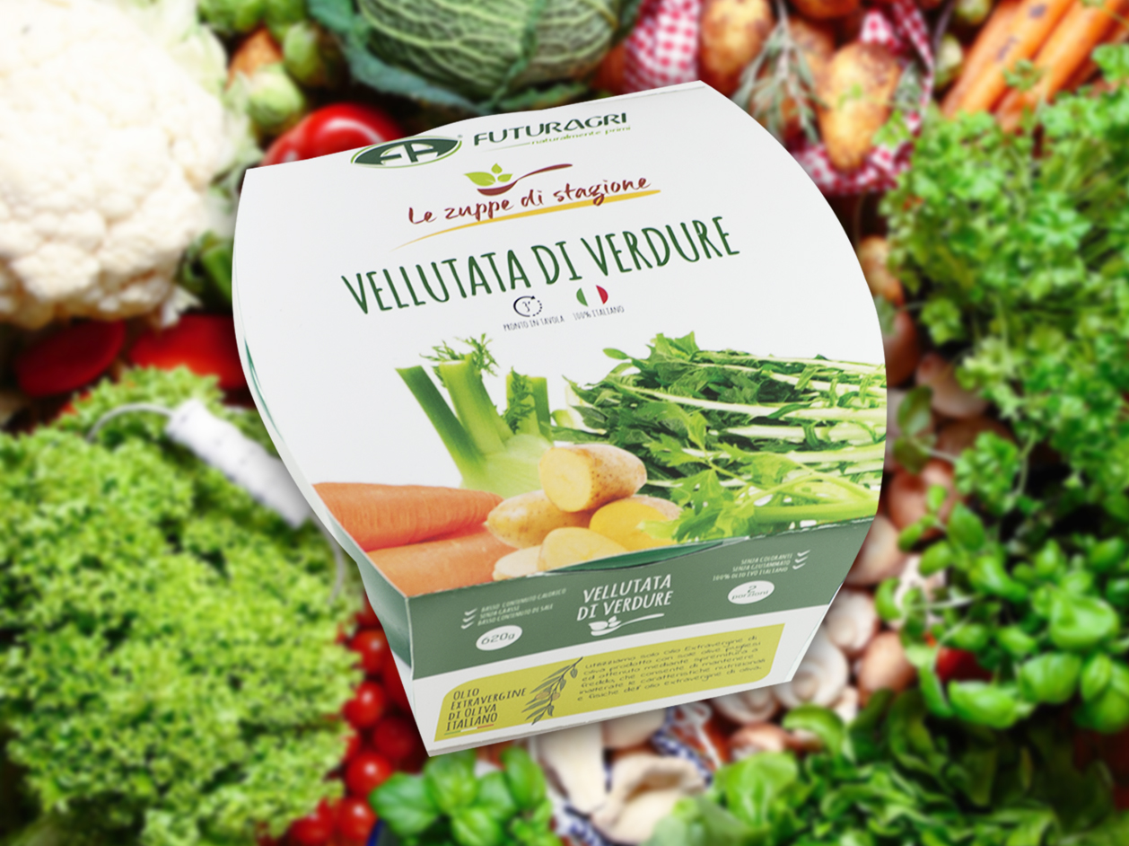 Zuppe di stagione Futuragri - Vellutata di verdure
