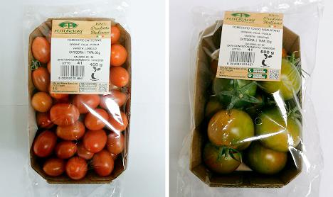 Etichetta compostabile Futuragri